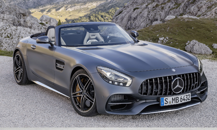 Mercedes AMG GTS Convertible